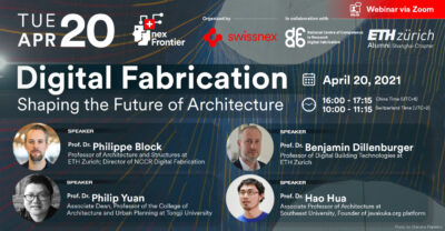 Banner nex Frontier Digital Fabrication